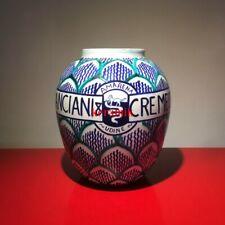 CANCIANI & CREMESE AMARENA UDINE Regia Scuola Ceramica Faenza 1924 Antico Vaso