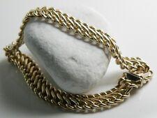 Wunderbares Armband 333/8 Kt Gelbgold im Flechtmuster ital. Juwelier Uno A Erre