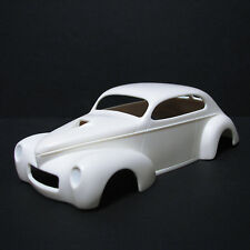 NB315 Jimmy Flintstone 1941 custom Revell Willys 1/25th scale hardtop, fastback