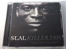 SEAL Killer 2005 Out of Print MAXI CD REMIXES Rauhofer MOREL DJ Monk x7 NM/MINT