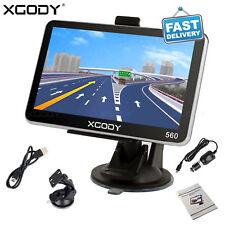 XGODY 560 5'' Car Auto SAT NAV 8GB Truck GPS Navigation Free US Maps Update