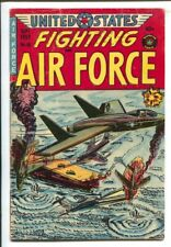 U.S. Fighting Air Force #16 1955-Superior-General Doolittle takes over-Fight ...