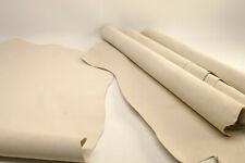 2mm 8-12sqft  Vegetable Tanned Natural Suede Leather Hide Butt Splits Lining