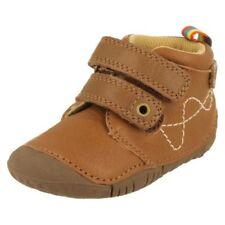 Chaussures beige boucle en cuir pour garçon de 2 à 16 ans