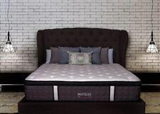 Pillow Top Queen Mattress Hybrid Coil Cool Gel Memory Foam Bed Premium Luxury