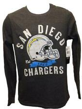 New San Diego Chargers Mens Sizes S-M-L-XL-2XL Gray Shirt $32