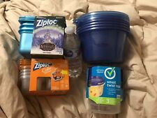 New listing Ziplock & Simply Done Storage Containers