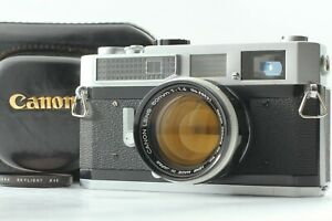 【MINT w/ Case】Canon Model 7 Rangefinder Film Camera w/50mm f/1.4 Lens from JAPAN