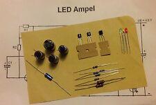 18-Pezzi Kit LED semaforo HOBBY ELETTRONICA + schema elettrico e abaco