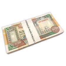 SOMALIA 50 Shillings X 100 PCS Prefix X 1991 P-R2 Full Replacement Bundle UNC