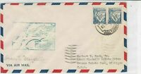 portugal 1939 air mail stamps cover ref 19358
