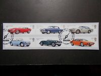 ~GB~2013~Auto Legends~Very Fine Used Set~on piece~ex fdc~UK Seller