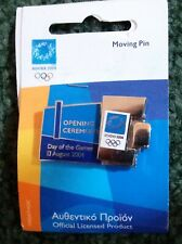 2004 Athens Opening Ceremony Olympic Pin Rotating