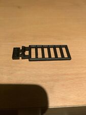 Vintage Lego Black 7x3 Ladder With Double Clips & Black Hinge Plate 6020