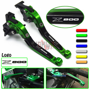 Adjustable Brake Clutch Extend Folding Levers For Kawasaki Z800/E version 13-16