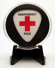Emergency Guitar Pick With MADE IN USA Display Case & Easel