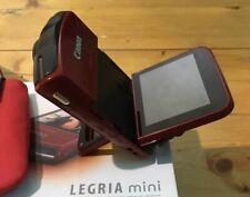 Canon Legria Vixia mini RED Camcorder Flash Hd Pocket