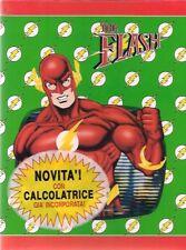 DC THE FLASH QUADERNO ANELLI VERDE MONDADORI 1991