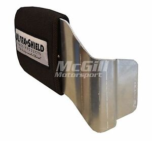 Ultra Shield Adult Head Support for Race Seat, Drivers Right Side, Black Cover