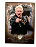 WWE Bobby Heenan #48 2016 Topps Undisputed Bronze Parallel Card SN 33 of 99