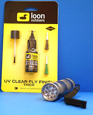 Loon uv colle thick 2 fonctionnement pointes & pinceau & uv lampe uv thick & uv torch