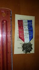 1933 MEDAL RIBBON VFW LADIES AUXILIARY EXCELLENT CONDITION LOOK! CONNECTICUT