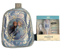 Disney Frozen 2 Backpack And Hairbrush Set