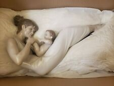 """Lladro Large 16"""" Long Figurine Giggles With Mom 01009152 Newborn Baby New In Box"""