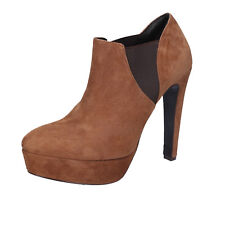 women's shoes FABI 11 (EU 41) ankle boots brown suede AK931-C