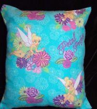 New Handmade Disney Tinkerbell Flannel Cuddle Travel Toddler Pillow