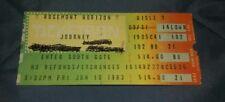 JOURNEY CONCERT STUB ROSEMONT HORIZON 6/10/1983
