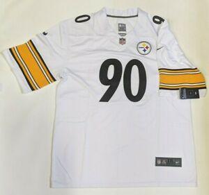 NFL Nike Pittsburgh Steelers WATT # 90 Game Edition Jersey [White, XXL]