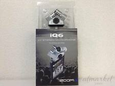 NEW!!F/S ZOOM iQ6 XY Stereo Microphone for iPhone/iPad from JAPAN
