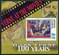 Antigua & Barbuda Jules Verne Stamps 2005 MNH Michael Strogoff Writers 1v S/S