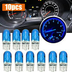 10pcs Blue T10 501 W5W Dashboard Dash Panel Gauge Light Bulbs Car Accessories Alfa Romeo 156