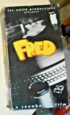 FRED A Snowboard Film by Jon Long Fat World Productions vhs