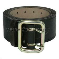 Original Genuine Russian army Officer's military belt - Natural leather - Black