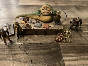 Star Wars Jabba's Throne WM Exclusive Hutt Salacious Crumb Solo Carbonite