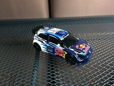 Majorette VW Polo WRC REd Bull model Blue Diecast Racing