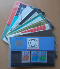 1973 Royal Mail Commemorative Presentation Packs. Each sold separately.