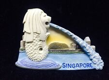 MERLION SINGAPORE 3D GIFT MAGNETIC HOLDER RESIN COOLER FRIDGE SOUVENIR MAGNET