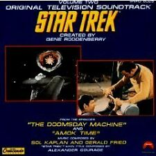 Star Trek: Volume 2 - Doomsday Machine and Amok Time Bob Karlan, Gerald Fried