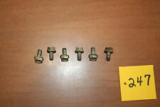 1985 Honda ATC 200s Rear Brake Drum Cover  Hardware Bolts OEM 85