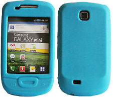 Marca Blue Soft shell/silicon/gel Funda Para Samsung Galaxy Mini S5570 S 5570
