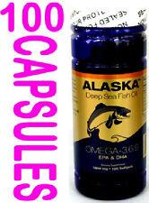 one bottle Omega-3,6,9, Deep sea  Fish Oil  EPA/DHA Flaxseed Oil 100 softgels