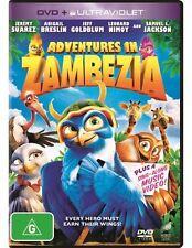 Adventures in Zambezia NEW R4 DVD and UV