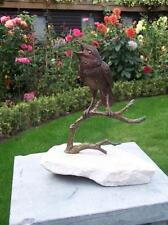 Bronzeskulptur,Vogel,Statuen,Gartenfigur,Dekor,Tierfigur,Garten,