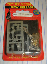 40k Rare oop Vintage Metal Space Marine Librarian w/ Force Staff NIB 5