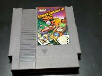 Vegas Dream (Nintendo Entertainment System, 1988) AUTHENTIC! TESTED!