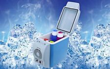 PORTABLE MINI FRIDGE CAR REFRIGERATOR COOLER WARMER FOOD DRINK 7.5 L